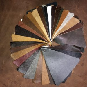leather options for upholstery