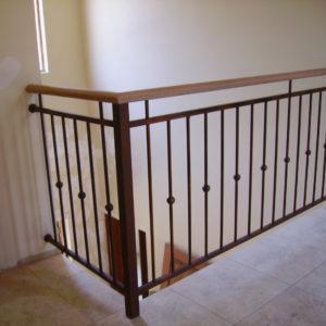 custom steel balustrades